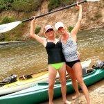 kayaking on the little manistee river