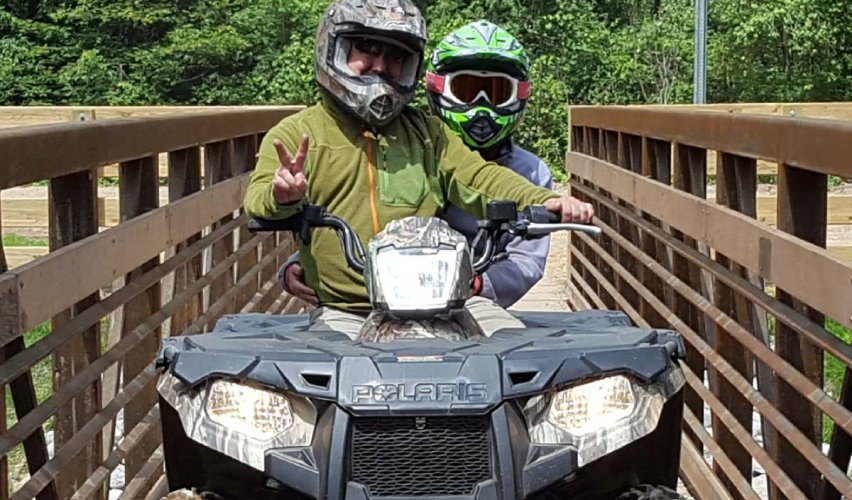 ATV Trail Riding